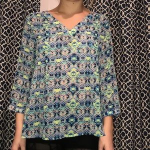Tops - Quarter sleeve top!
